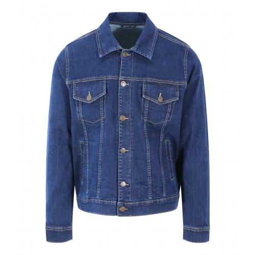 So Denim Noah Denim Jacket Dark Blue Wash