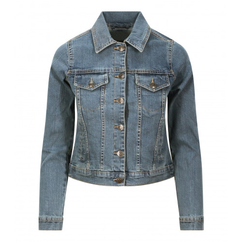 So Denim Olivia Denim Jacket Light Blue Wash