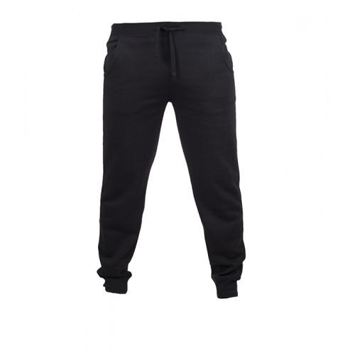Skinni Fit Men's Slim Fit Cuffed Jogger Black