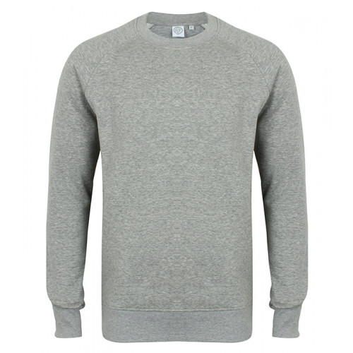 Skinni Fit Unisex Slim Fit Sweat Heather Grey