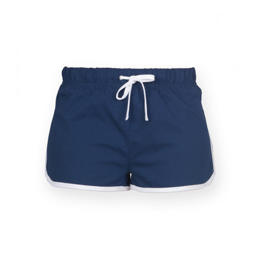 Skinnifit Women's retro shorts Navy/White