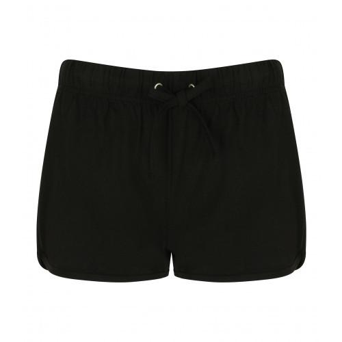 Skinnifit Women's retro shorts Black/Black
