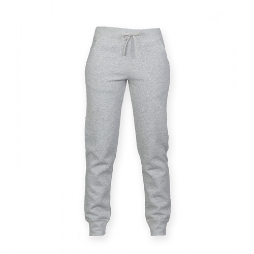 Skinni Fit Women's Slim Fit Cuffed Jogger Heather Grey