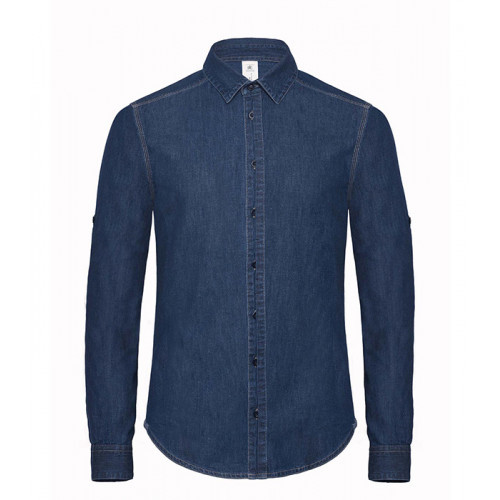 B and C Collection DNM Vision Men Deep Blue Denim