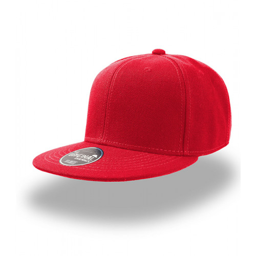 Atlantis Snap Back Cap Red