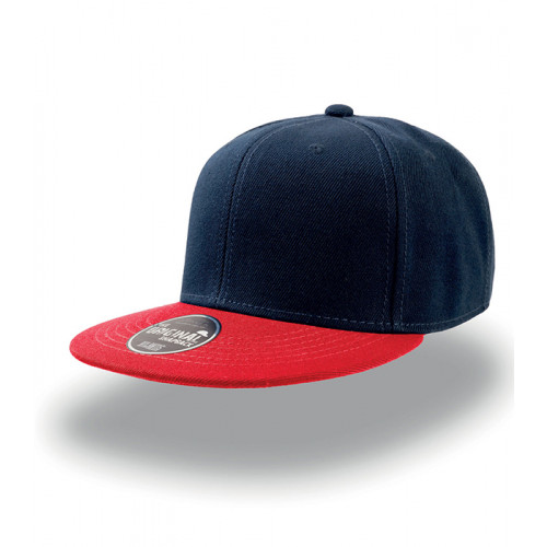 Atlantis Snap Back Cap Navy/Red