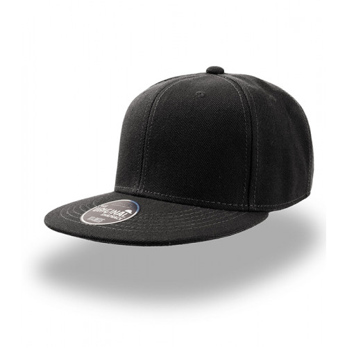 Atlantis Snap Back Cap Black