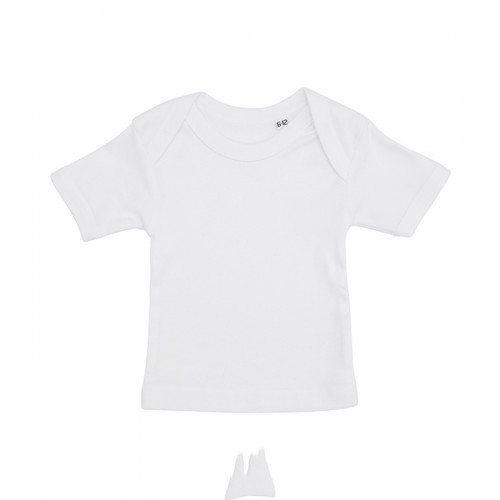 Label Free Baby T-shirt White