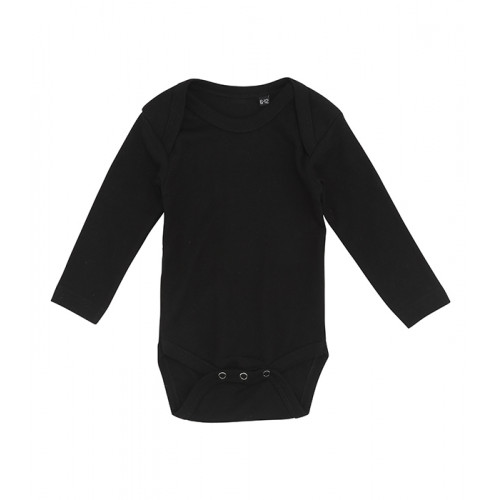 Label Free Baby Body Long Sleeve Black