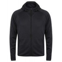 Tombo Men's Hoodie with Reflective Tape Navy