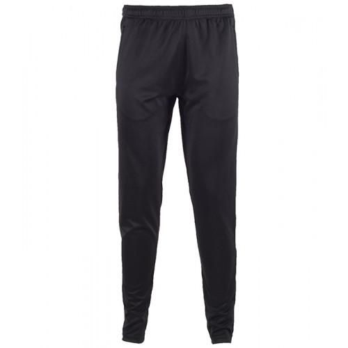 Tombo Men's Slim Leg Training Pants Black