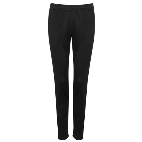 Tombo Ladies' Slim Leg Training Pants Black