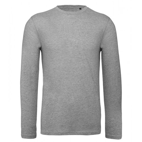 B and C Collection B&C Inspire LSL T men Sport Grey