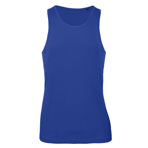 B and C Collection B&C Inspire Tank T men Cobalt Blue