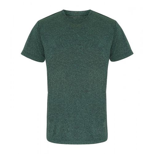 Tri Dri TriDri® performance t-shirt Forrest Green/Black Melange