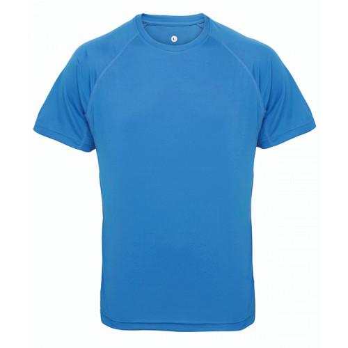 Tri Dri Panelled TriDri® tech tee Sapphire Blue