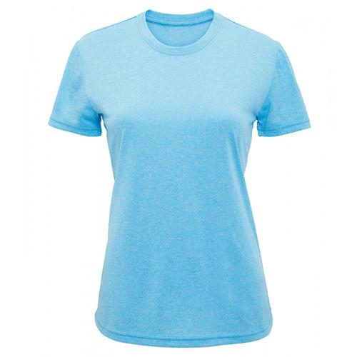 Tri Dri Women's TriDri performance t-shirt Turquoise Melange