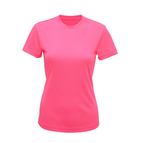 Tri Dri Women's TriDri performance t-shirt Lightning Pink