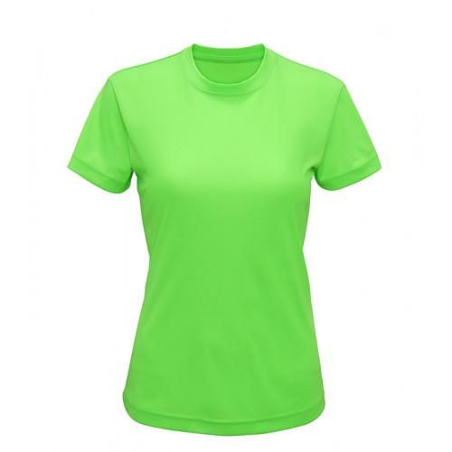 Tri Dri Women's TriDri performance t-shirt Lightning Green