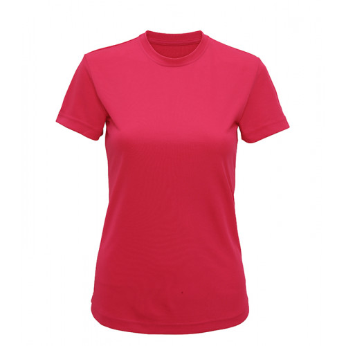 Tri Dri Women's TriDri performance t-shirt Hot Pink