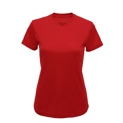Tri Dri Women's TriDri performance t-shirt Fire Red