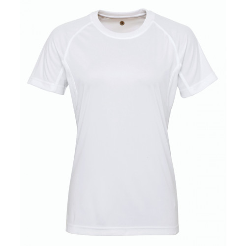 Tri Dri Women's panelled TriDri® tech tee White