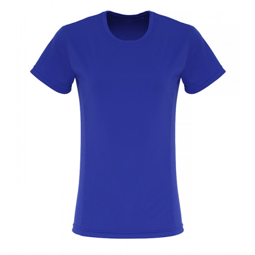 Tri Dri Ladies TriDri ® Embossed panel T shirt Royal