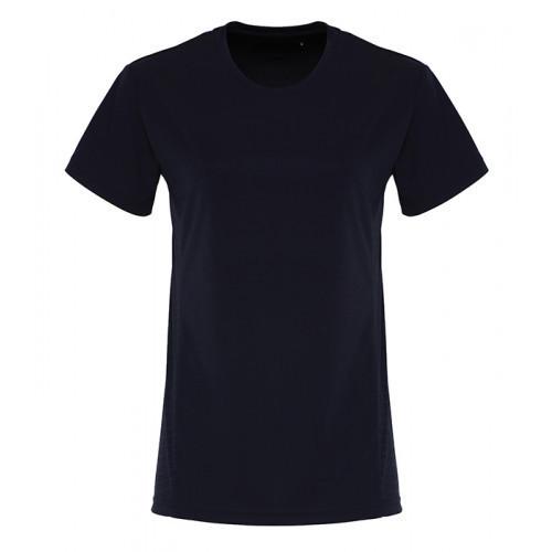 Tri Dri Ladies TriDri ® Embossed panel T shirt French Navy