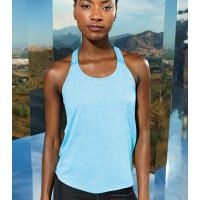 Tri Dri Women's TriDri® Double Strap Back Vest Turquoise Melange