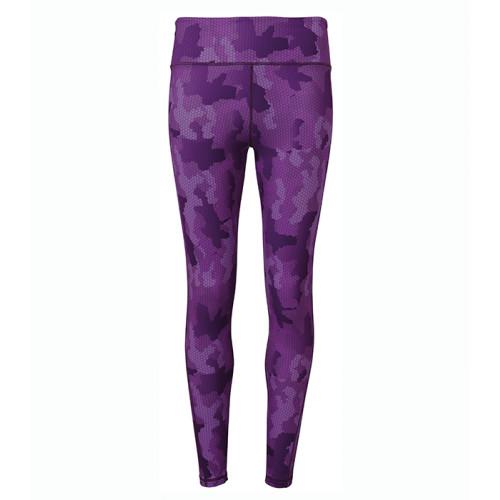 Tri Dri Women's TriDri performance Hexoflage™ leggings Camo Purple