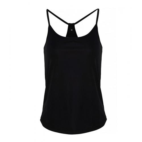 Tri Dri Ladies TriDri ® Yoga Vest Black