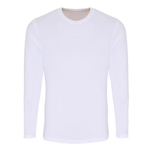 Tri Dri Mens TriDri® long Sleeve Performance T Shirt White