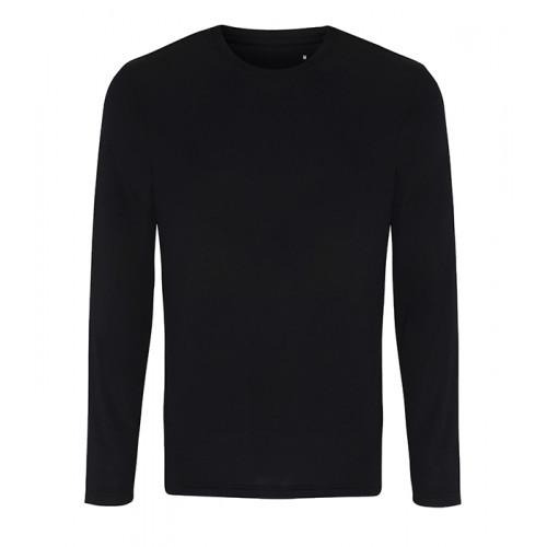 Tri Dri Mens TriDri® long Sleeve Performance T Shirt Black
