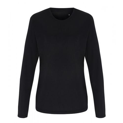 Tri Dri Ladies TriDri® long Sleeve Performance T Shirt Black