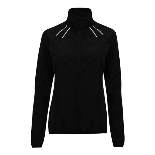 Tri Dri Women's TriDri® Ultralight Fitness Shell Black