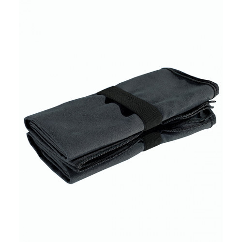 Tri Dri TriDri® microfibre quick dry fitness towel Charcoal