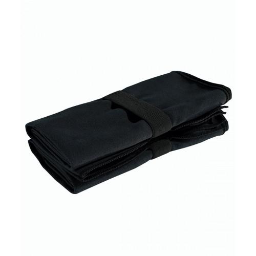 Tri Dri TriDri® microfibre quick dry fitness towel Black