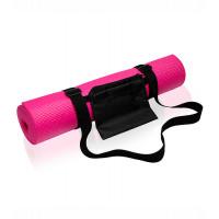 Tri Dri Yoga and fitness mat Hot Pink