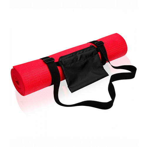 Tri Dri Yoga and fitness mat Fire Red