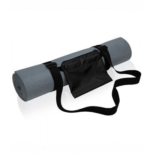 Tri Dri Yoga and fitness mat Charcoal