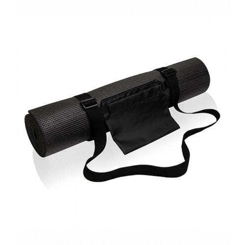 Tri Dri Yoga and fitness mat Black