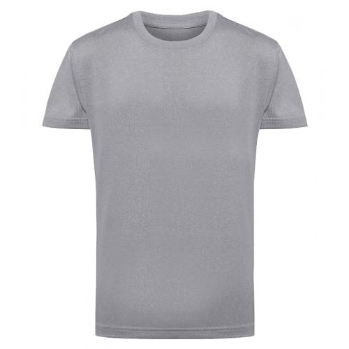 Tri Dri Kid's TriDri® Performance T-shirt Silver Melange