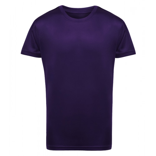 Tri Dri Kid's TriDri® Performance T-shirt Bright Purple