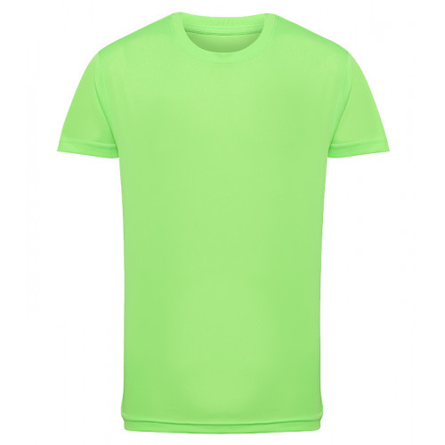 Tri Dri Kid's TriDri® Performance T-shirt Lightning Green