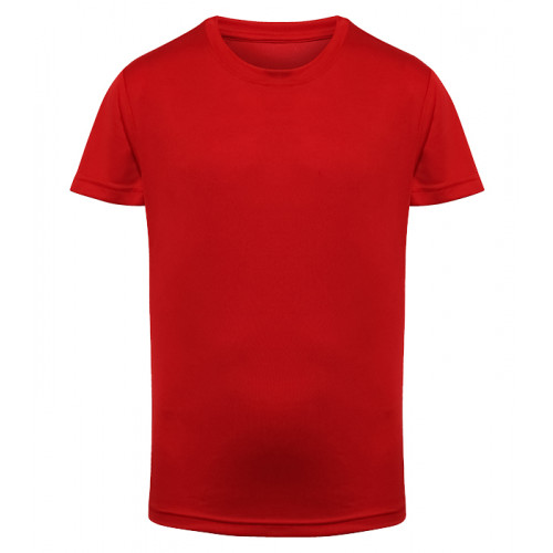 Tri Dri Kid's TriDri® Performance T-shirt Fire Red