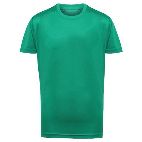 Tri Dri Kid's TriDri® Performance T-shirt Bright Kelly