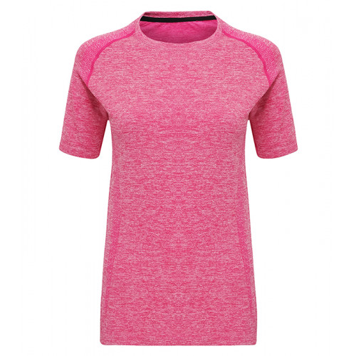 "Tri Dri Women's TriDri® Seamless ""3D-fit"" Multi-sport Performance S/S Top Pink"