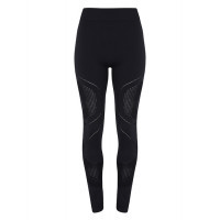 "Tri Dri Womens Seamless ""3D Fit"" Multi-sport Reveal Leggings Black"