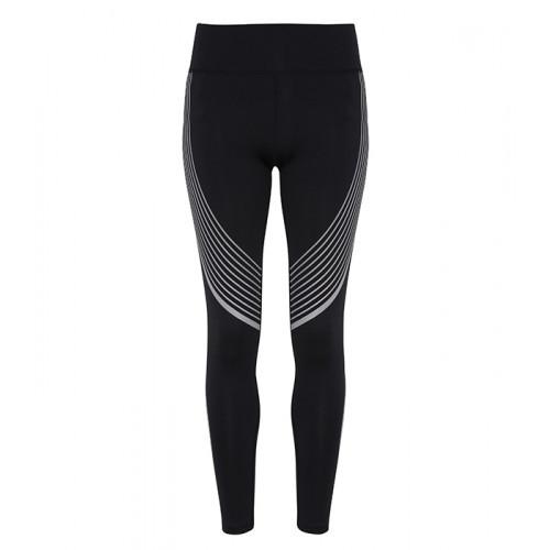 Tri Dri Ladies TriDri ® Performance reflective Leggings Black