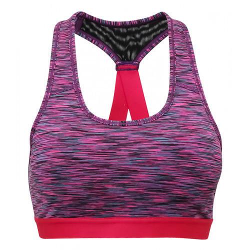 Tri Dri Women's TriDri® Performance Sports Bra Space Pink